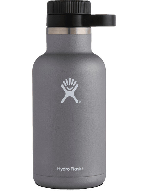 Hydro Flask Wide Mouth Beer Bottle 64oz (1900ml) Graphite